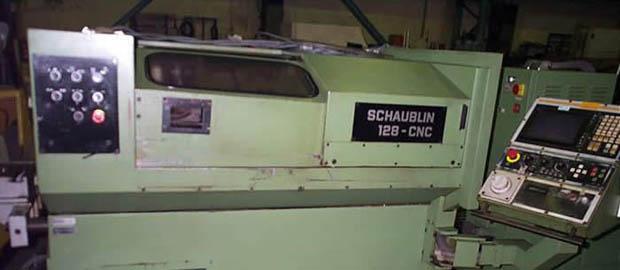 Drehmaschine Schaublin 128-CNC