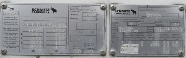 Schmitz SKO 24 Trockenfrachtkoffer